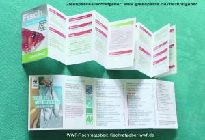 Fischratgeber Greenpeace WWF
